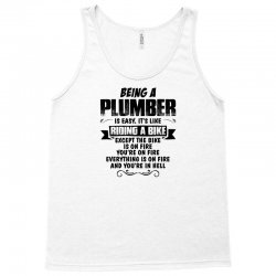 being a plumber copy Tank Top | Artistshot