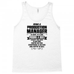 being a production manager copy Tank Top | Artistshot
