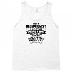 being a receptionist copy Tank Top | Artistshot