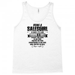 being a salesgirl copy Tank Top | Artistshot