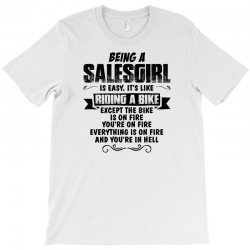 being a salesgirl copy T-Shirt | Artistshot