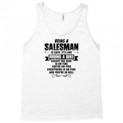being a salesman copy Tank Top | Artistshot