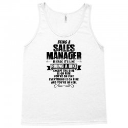 being a sales manager copy Tank Top | Artistshot