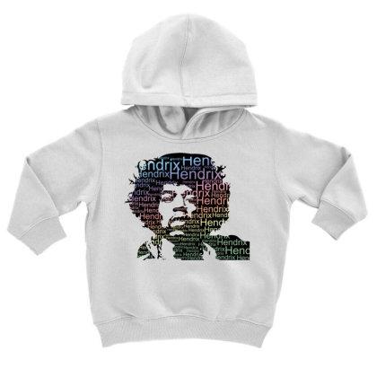 Jimi Hendrix Toddler Hoodie Designed By Nhan0105