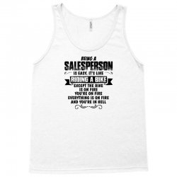 being a salesperson copy Tank Top | Artistshot