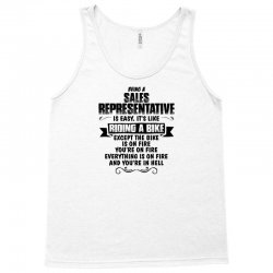 being a sales representative copy Tank Top | Artistshot