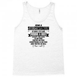 being a saleswoman copy Tank Top | Artistshot