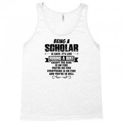 being a scholar copy Tank Top   Artistshot
