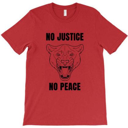 No Justice No Peace T-shirt Designed By Elga Vaniaputri