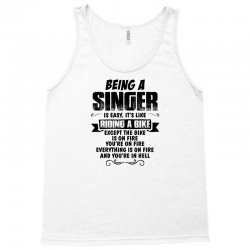 being a singer copy Tank Top | Artistshot