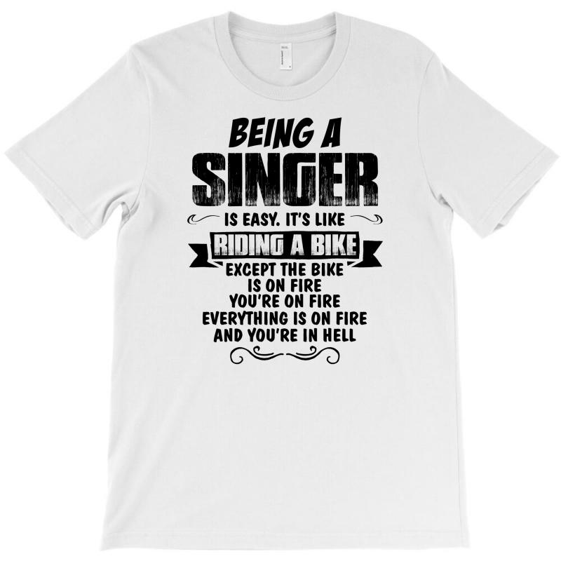 Being A Singer Copy T-shirt | Artistshot