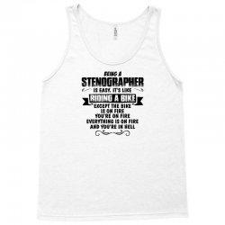 being a stenographer copy Tank Top   Artistshot