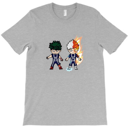 Todoroki Shoto Anime T-shirt Designed By Efan Willyansyah
