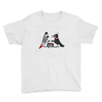 Battle Of Wits Youth Tee Designed By Cuser