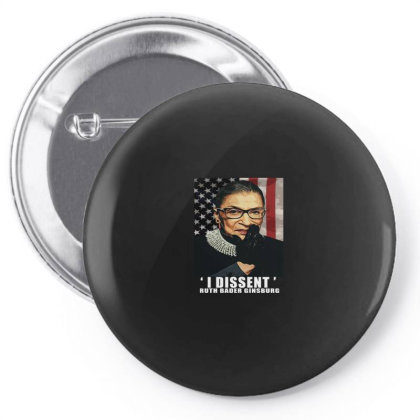 Notorious R.b.g. Funny Progressive, Liberal Ruth Bader Ginsburg Pin-back Button Designed By Alparslan Acar