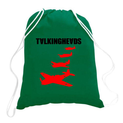 Talking Heads Merch Drawstring Bags Designed By Aris Ferdinan
