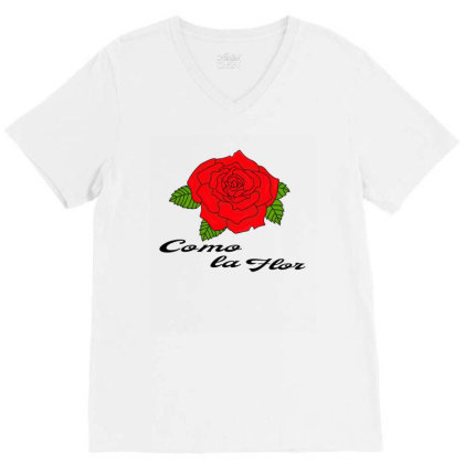 Mexican Spanish Womans Bday Cumbia Queen Reina V-neck Tee Designed By Alparslan Acar
