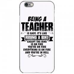being a teacher copy iPhone 6/6s Case | Artistshot