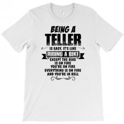 being a teller copy T-Shirt | Artistshot