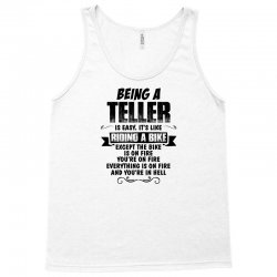 being a teller copy Tank Top | Artistshot