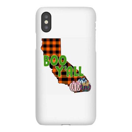 Boo Y'all California Iphonex Case Designed By Badaudesign