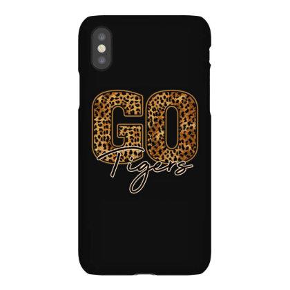 Go Tigers Iphonex Case Designed By Badaudesign
