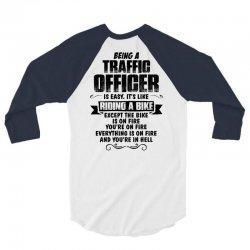 being a traffic officer copy 3/4 Sleeve Shirt | Artistshot