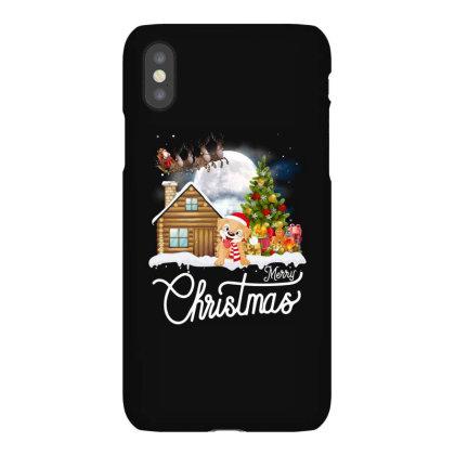 Merry Christmas Dog Iphonex Case Designed By Badaudesign