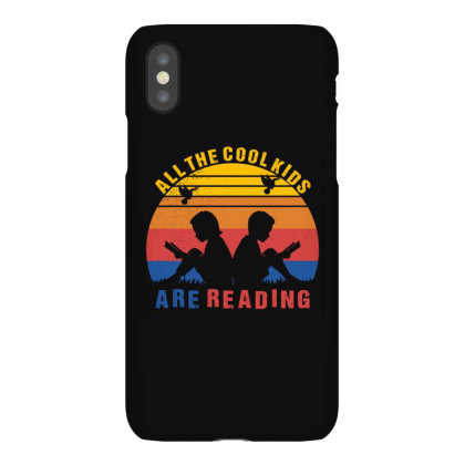 All The Cool Kids Are Reading Iphonex Case Designed By Badaudesign