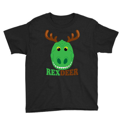 Rex Deer Youth Tee Designed By Badaudesign
