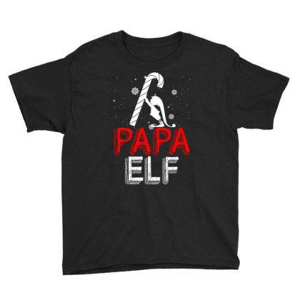 Papa Elf Youth Tee Designed By Badaudesign
