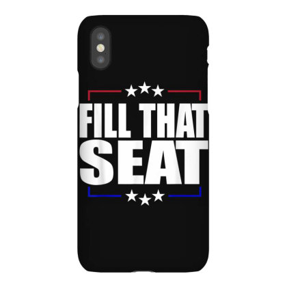 Fill That Seat Iphonex Case Designed By Kakashop