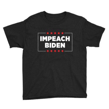 Impeach Biden Youth Tee Designed By Kakashop
