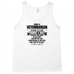 being a veterinarian copy Tank Top | Artistshot