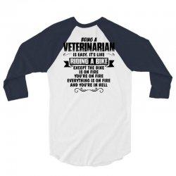 being a veterinarian copy 3/4 Sleeve Shirt | Artistshot