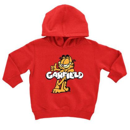 Garfield Retro Garf Toddler Hoodie Designed By Ballard
