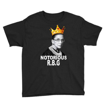 Notorious Rbg Youth Tee Designed By Kakashop