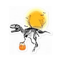 Rex Halloween Sticker Designed By Badaudesign