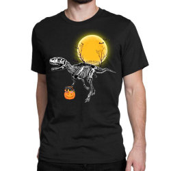 Rex Halloween Classic T-shirt Designed By Badaudesign