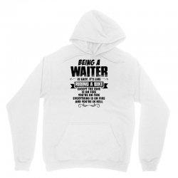 being a waiter copy Unisex Hoodie   Artistshot
