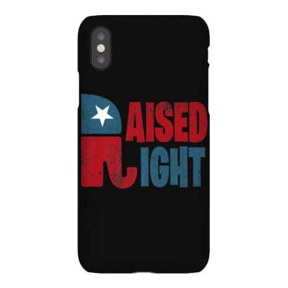 Raised Right Republican Elephant Iphonex Case Designed By Kakashop