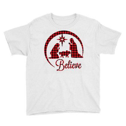 Believe Youth Tee Designed By Badaudesign