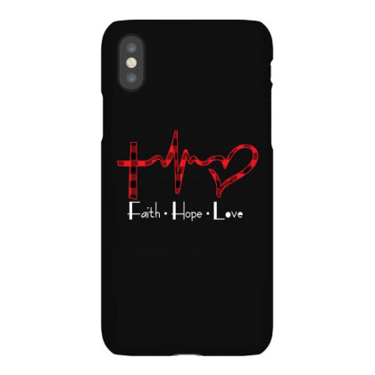 Faith Hope Love Christmas Iphonex Case Designed By Badaudesign