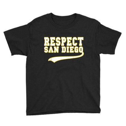 Respect San Diego Youth Tee Designed By Kakashop
