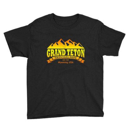 Grand Teton National Park Youth Tee Designed By Ballard