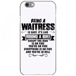 being a waitress copy iPhone 6/6s Case | Artistshot