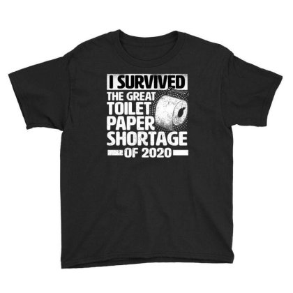 Great Toilet Paper Shortage 2020 Youth Tee Designed By Ballard
