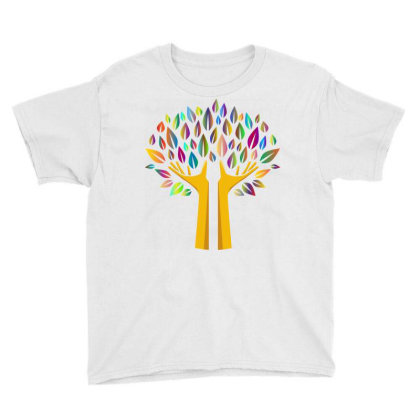 Hand Tree Youth Tee Designed By Chiks