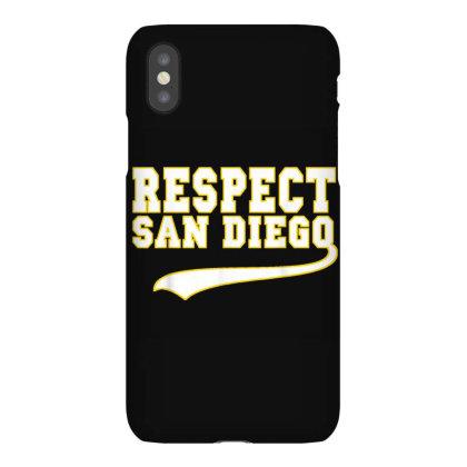 Respect San Diego Iphonex Case Designed By Kakashop