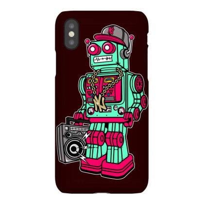 Dj Robot Cybrog Iphonex Case Designed By Chiks